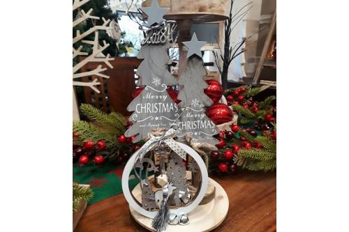 Διακόσμηση τραπεζιού τα Χριστούγεννα
