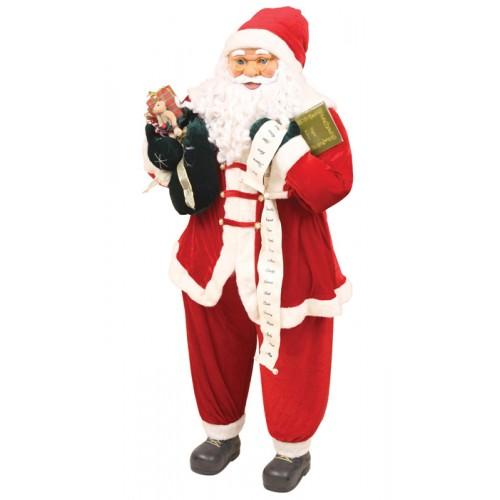 Άγιος Βασίλης 1,53εκ με δώρα