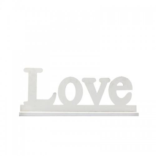 Ξύλινη παράσταση Love 50χ10χ20εκ