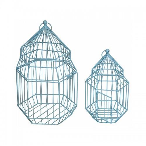 Κλουβί μεταλλικό σετ 2