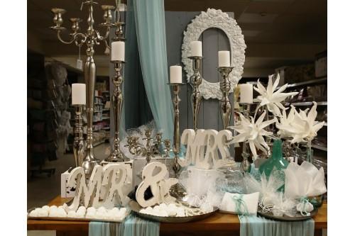 Aqua elegant διακόσμηση γάμου