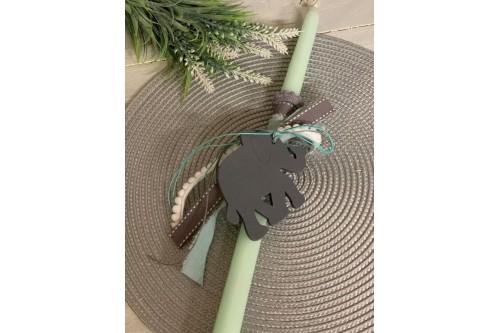 Λαμπάδα πασχαλινή ελεφαντάκι