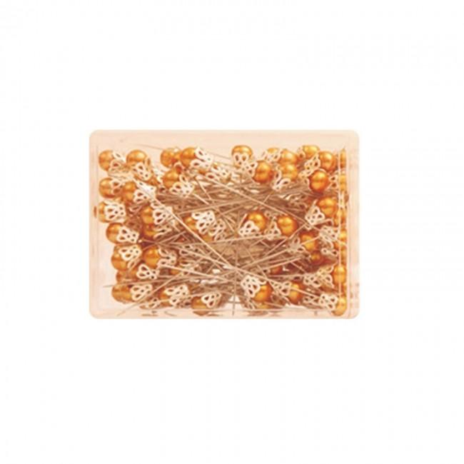 Καρφίτσα με πέρλα και κορώνα 8ΜΜ σετ 100 · Χρώμα  Χρυσό ... 9f900f1e16c