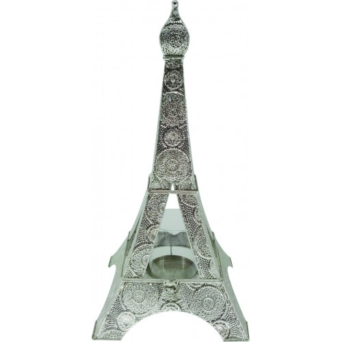 Μεταλλικό κηροπήγειο Πύργος Aiffel 29χ29χ57εκ